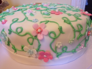 Enchanted Garden Cake Sweet Elizabeth S Blog